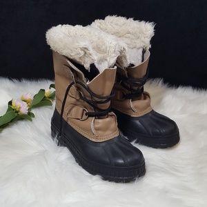 Sorel Kids Snow Rain Boots Size 1